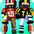 Block American Football 3D - Touchdown Multiplayer Sport Mine Mini Game