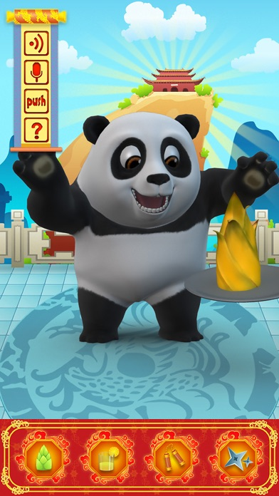 Screenshot #1 pour Talking Bruce the Panda