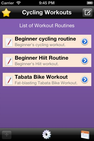 Cycling Workout Timer Free screenshot 1