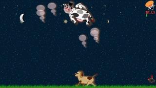 Screenshot von Kopf schütteln,Fliegende Kuh5