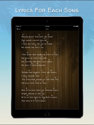 Ukulele Gospels Screenshot