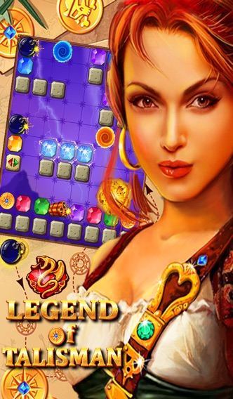 Screenshot #6 for Legend of Talisman: Match-3 Physics Puzzle Crush