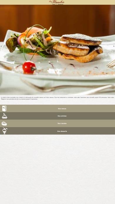 Capture d'écran de Hôtel Restaurant La Flambée2