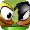 Flappy Quacky : A Flying Bird Game - Tilt and Shift to Live