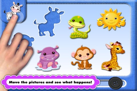 Animated Puzzle Game with Animals and Vehicles for Toddler and Preschool Kids by Abby Monkey® screenshot 1