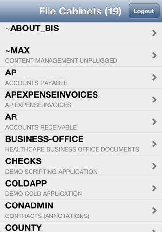 MAX Mobile Client screenshot 1