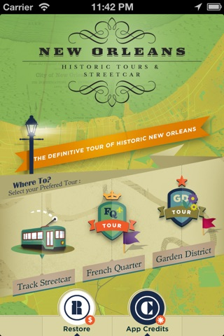 French Quarter, Garden District Historic Tours and New Orleans Streetcar Tracker screenshot 1