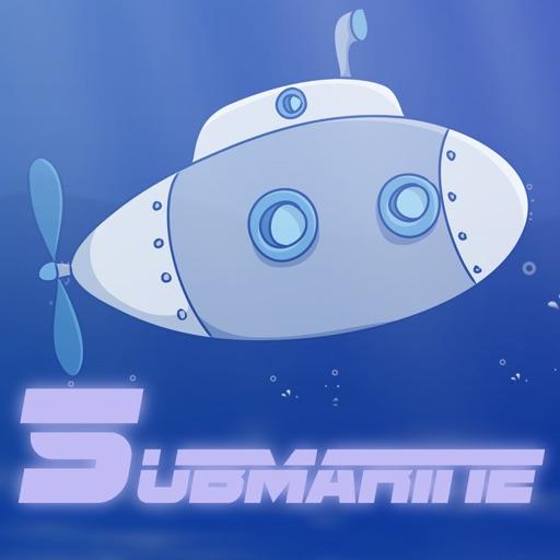 Awesome Submarine Water Racing Mania iOS App