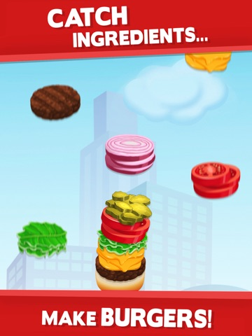 Screenshots of Sky Burger - Build & Match Food Free for iPad