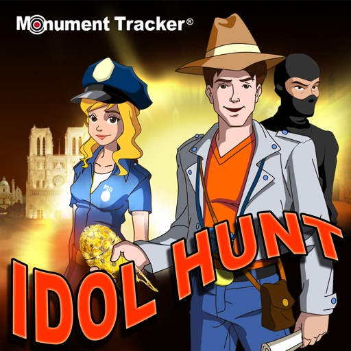 Idol Hunt - Travel and history game for Rome, Paris, London and much more iOS App