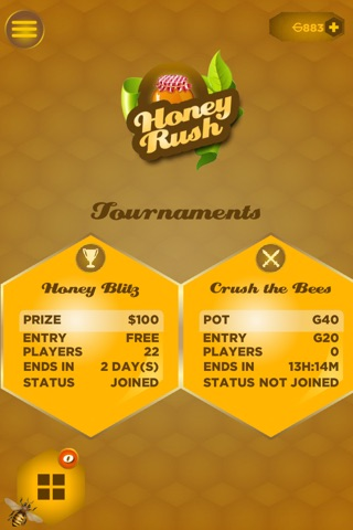 Honey Rush! screenshot 1
