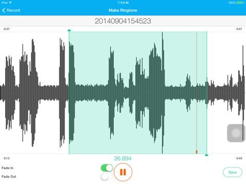 Ringtone Genius Pro - Ringtone Maker Expert Скриншоты8