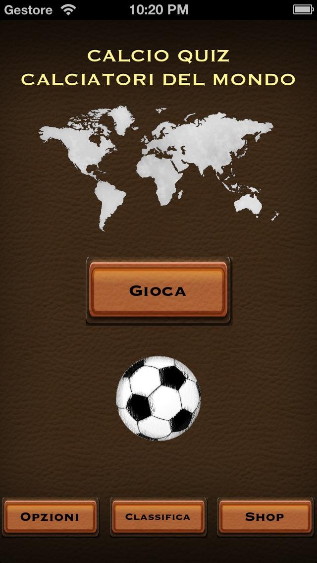 Screenshot of Calcio Quiz: Calciatori del Mondo2