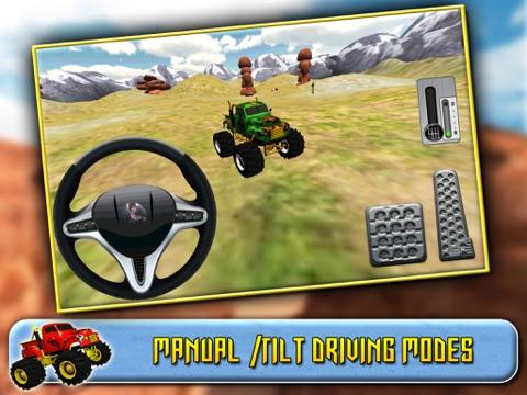 Screenshot #5 pour 3D Monster Truck Driving
