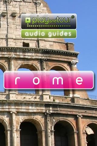 Rome touristic audio guide (english audio) screenshot 1