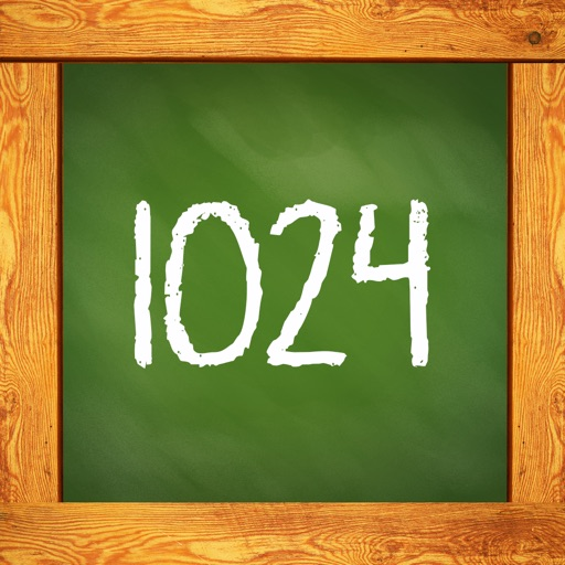 1024 Math Puzzle - cool mind teasing game iOS App