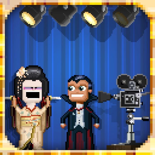 像素人拍电影:Pixely People Making Movies