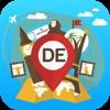 Alemania Guía y mapa de viaje Desconectado Offline. Visitas ciudad: Berlín,Munich,Frankfurt,Colonia