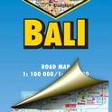 Bali. Road map. icon