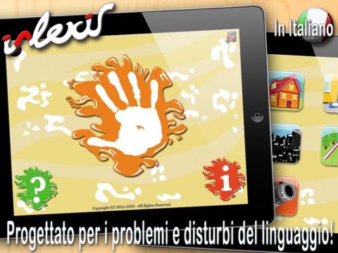 i-Lexis HD (in Italiano) - App per i problemi del linguaggio Screenshot
