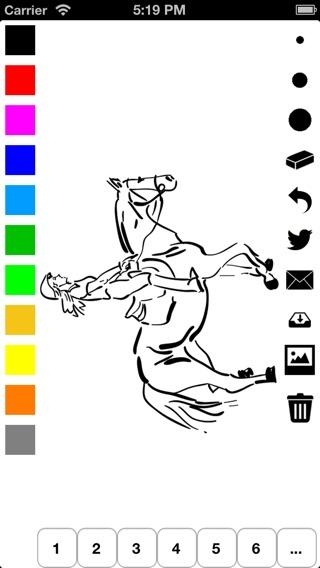 malbuch der pferde f r m dchen pony pferd und mehr. Black Bedroom Furniture Sets. Home Design Ideas