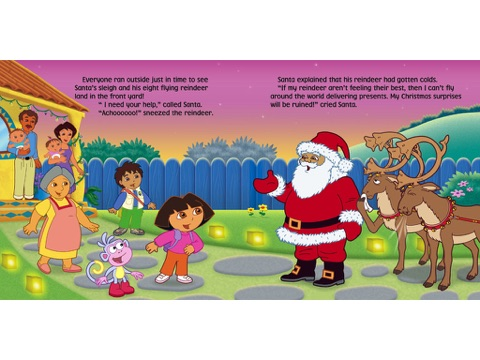 Dora's Starry Christmas (Dora the Explorer) by Nickelodeon on iBooks