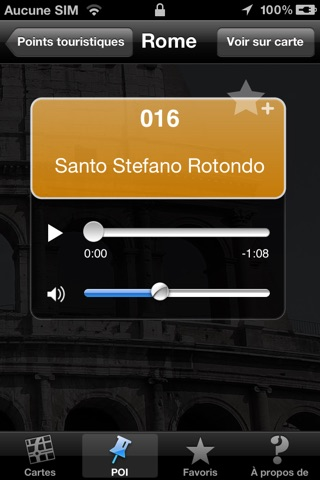 Rome audioguide touristique (audio en français) screenshot 3