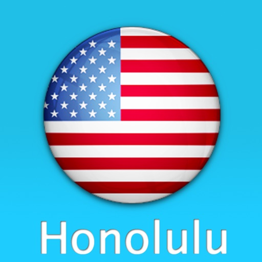 檀香山自由行地图 (夏威夷)