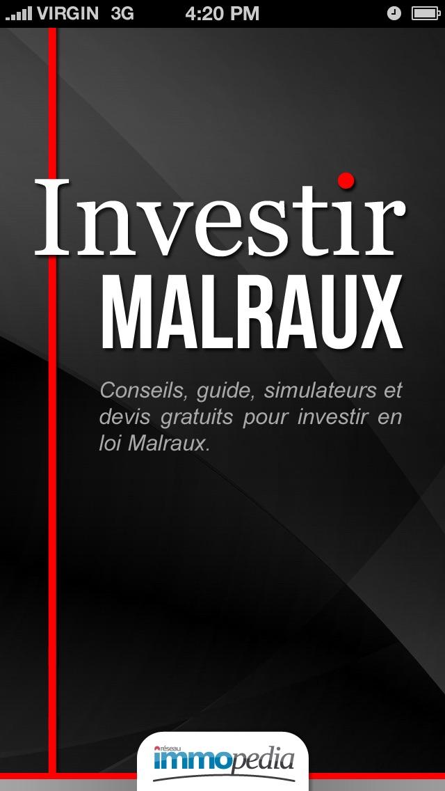 Investir MalrauxCapture d'écran de 5