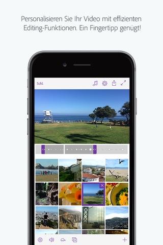 Adobe Premiere Clip - Create, edit & share videos screenshot 2