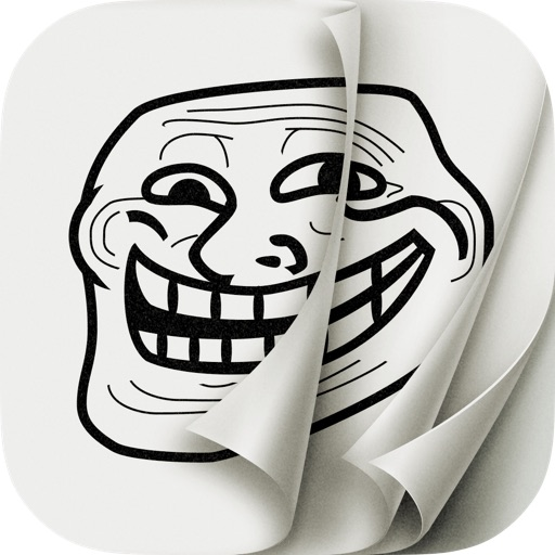 AniMeme – Animated Rage Faces Stickers for iOS7 iMessages