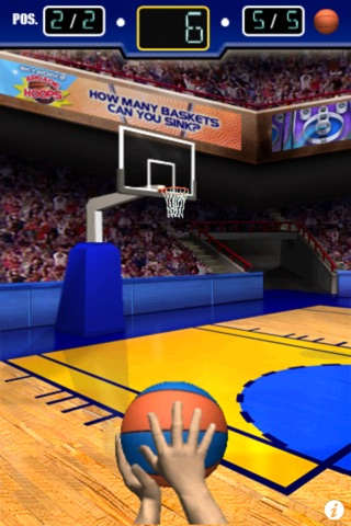 Screenshots of 3 Point Hoops® Basketball Free for iPhone