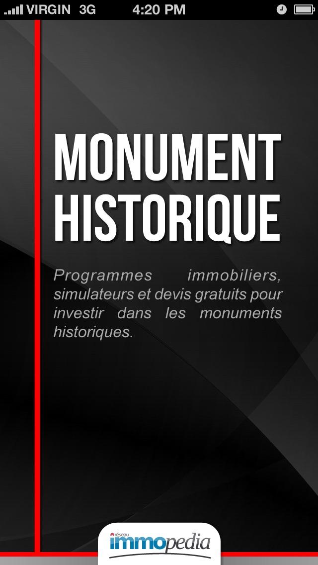 Monument HistoriqueCapture d'écran de 5