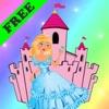 Malbuch: Princess! - Spiele für Mädchen - Princess Färbung - FREE