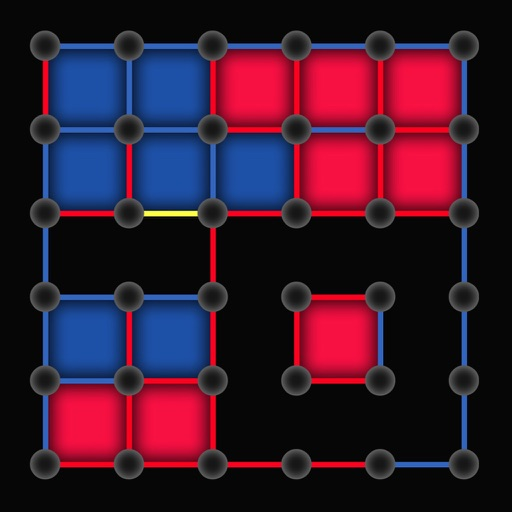 Dots and Boxes 2015 - classic squares about slide puzzle traps iOS App