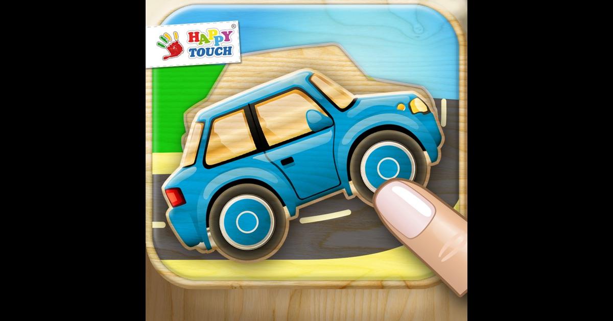 jeux voitures puzzle pour les enfants par happy touch jeux pour enfants dans l app store. Black Bedroom Furniture Sets. Home Design Ideas