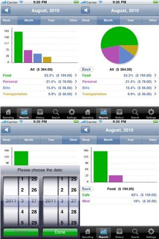 Expense Tracker - Spending Free screenshot 2