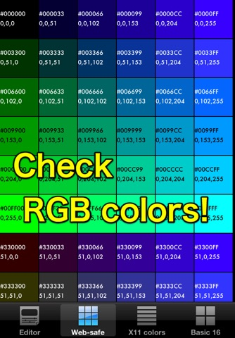 RGB checker - Check many colors! screenshot 2