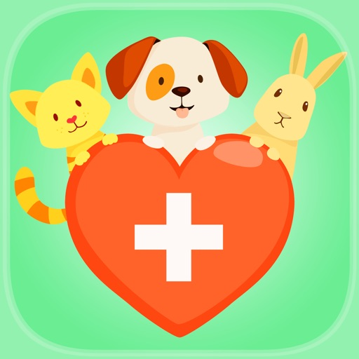 Cute Pet Vet Hospital Line Up - FREE - An Animal Doctor Match Pattern Game iOS App