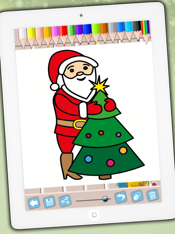 Santa Claus Coloring Pages Xmas Drawings To Colour On Christmas