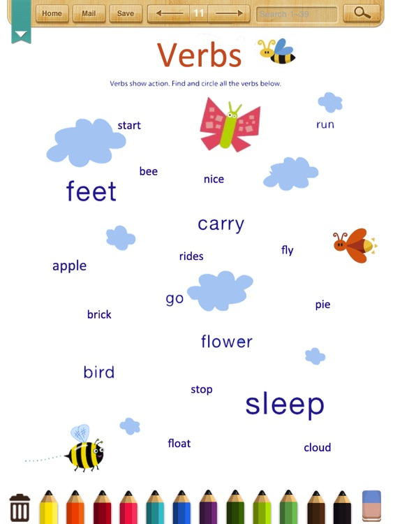 English Worksheets For Grade 1 : All worksheets english grammar for class