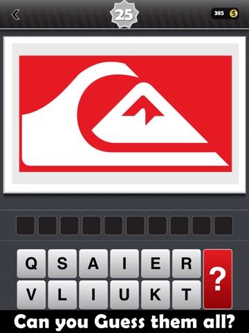 Угадай Логос (Мировые бренды и логотипа Общая викторины игры) на iPad