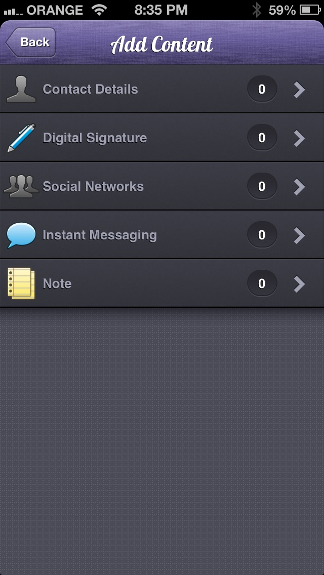 download Signatures - email personality apps 2