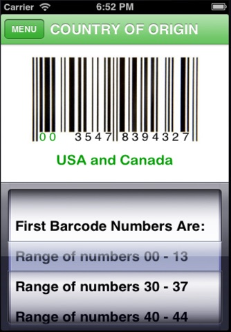 Barcode and PLU Label Reader screenshot 4