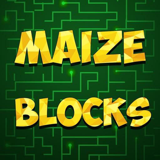 Walk on The Maze Blocks - cool tile running arcade game iOS App