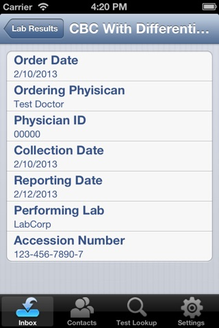LabCorp|Link for Providers screenshot 3