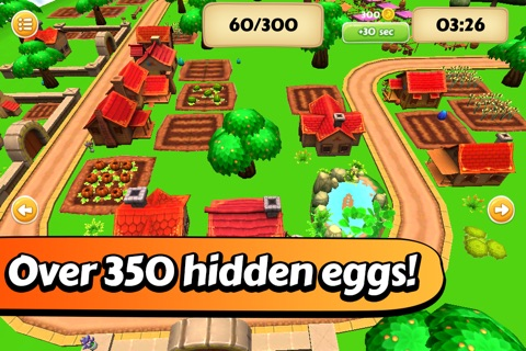 Easter Egg Hunt - The Bunny's Village screenshot 1