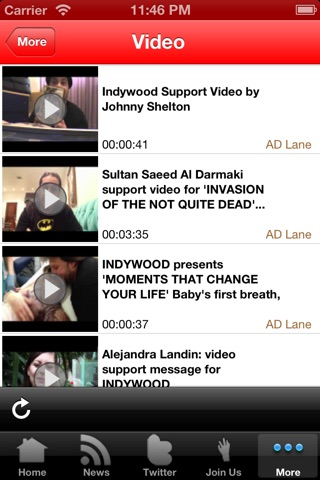 The Invasion of the Not Quite Dead Official Info App screenshot 3