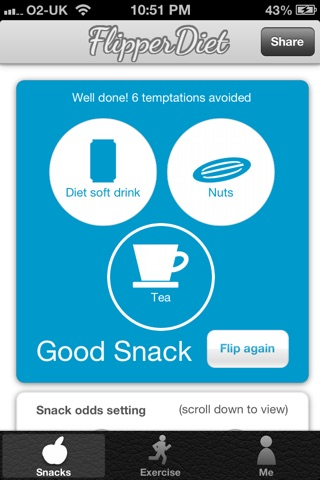 FlipperDiet - Put you in control of cravings! screenshot 3