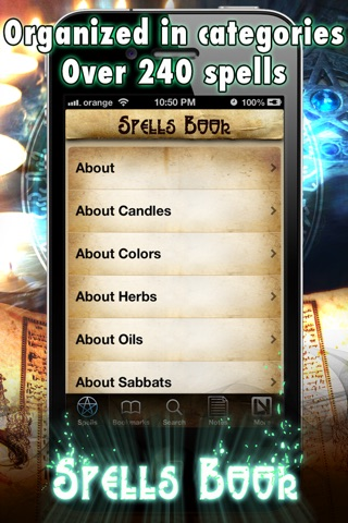 Spells and Witchcraft Handbook screenshot 2